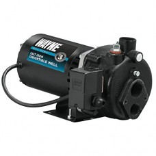 Wayne CWS100 1 HP Cast Iron Convertible Well Jet Pump for Wells Up to 90-Feet