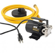 Wayne PC2 1/10 HP Portable Transfer Water Pump with Suction Hose and Attachment