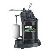 Wayne SPF50 1/2 HP Thermoplastic Sump Pump with Integrated Vertical Float Switch