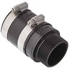Zoeller 30-0238 Inline Check Valve, Small, Black