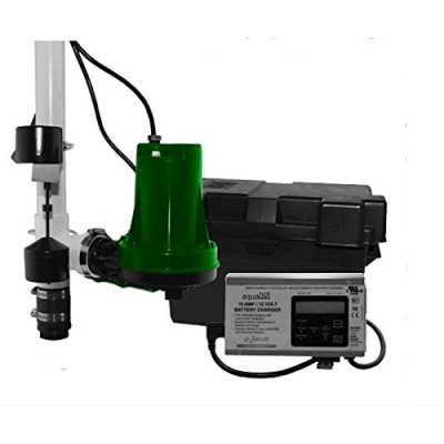 Zoeller 508-0005 Aquanot 508 Sump Pump System Battery Back-Up System