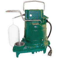 Zoeller 53-0001 M53 Mighty-Mate Automatic Submersible Pump, 115-Volts