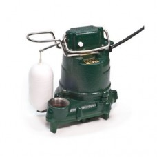 Zoeller 53-0016 115-Volts 0.3 Horse Power Model M53 Mighty-Mate Automatic Cast Iron Single Phase Submersible Sump/Effluent Pump