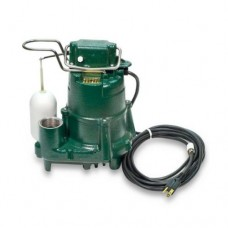 Zoeller 98-0001 115-Volts 1/2 Horse Power Model M98 Flow-Mate Automatic Cast Iron Single Phase Submersible Sump/Effluent Pump